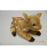 RARE TY BEANIE BABY WHISPER MWMT SPOTTED FAWN DEER Tag Errors Gift - $12.38
