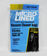 DVC Micro Lined Eureka Style DX Microlined Paper Vacuum Bags 3 Pack - $5.36
