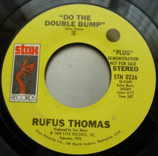 Rufus Thomas - Do the Double Bump - Stax Records STN-0236
