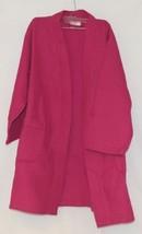 Mirko Thigh Length Waffle Weave Kimono Robe One Size Hot Pink image 1