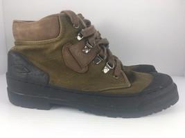 Merrell Eco Terra Bronze Women US 9.5 Brown + Black Hiking Trail Boots - $649,74 MXN