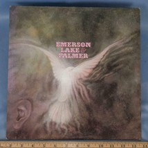 Vintage Emerson Lake & Palmer Self-Titled Record Album Vinyl LP dq - £4.75 GBP