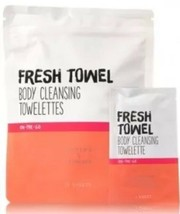 Bath & Body Works FRESH TOWEL BODY CLEANSING TOWELETTES Active/Skincare ... - $11.76