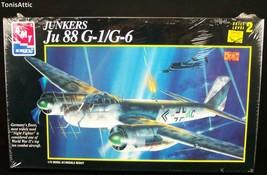 1/72 AMT/Ertl Models JUNKERS Ju-88G-1/G-6 German WWII Night Fighter MIB ... - $13.08
