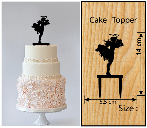 Wedding,Birthday Cake topper,Cupcake topper,silhouette Street Fighter : 11 pcs