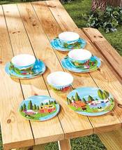 12-Pc.Happy Camper Dinnerware Set - $29.02