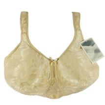 Amoena 2133 Ella Pocketed Non-Wire Post Mastectomy Nude Pearl Beige Bra ... - $17.95