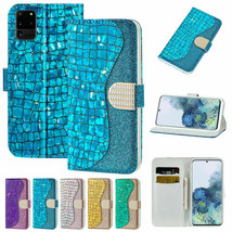 For Samsung S21 S20 Note 20 UItra A52 A72 A32  Leather Magnetic Flip Case cover - $58.97