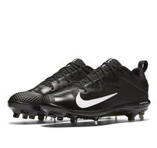 Nike Lunar Vapor Ultrafly Pro Black White Mens 12 Baseball Cleats 852696 010 - $29.95
