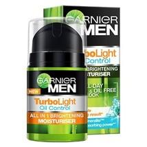 Garnier Men Turbo Light Oil Control All in 1 Brightening Moisturiser 40 ml - $15.24