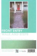 Landscape Plans Front Entry Walk & Steps Paver Layout Landworks Design G... - $8.30