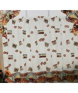 """3 pc Set Curtains: 2 Tiers (30""""x 36"""") & Rufted Swag (60""""x 36"""") FRUITS BA... - $21.77"""