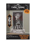 Gothic Haunted Mansion Scene Setters Add On Hallway Wall Decoration - $7.31