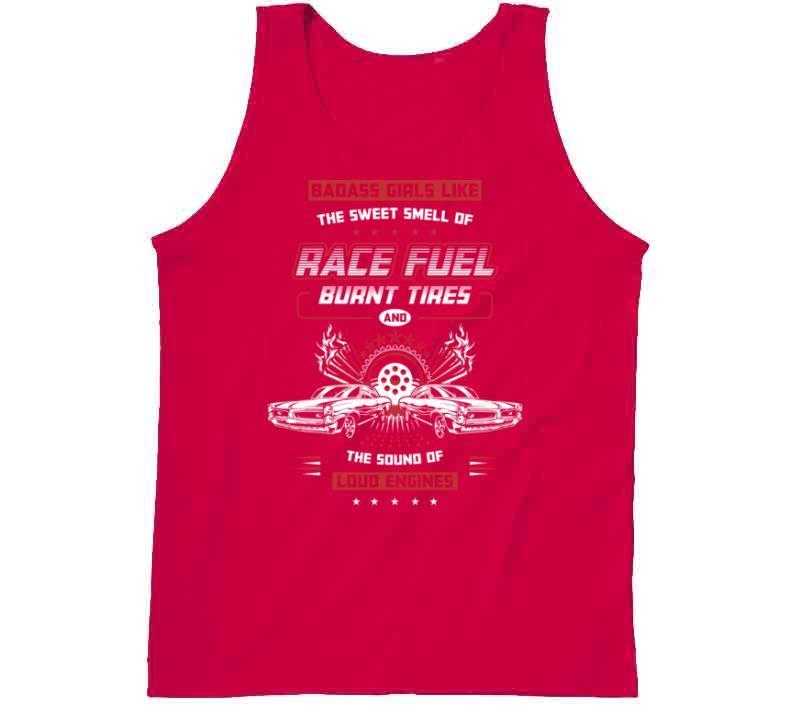 Bad Girls Like Racing T-shirt