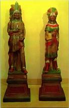Vtg Pubblicità Brochure Classico Americana Sigari Store Indiano Artistic... - $130.72