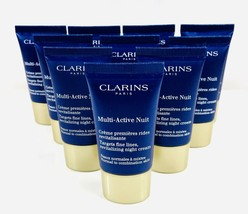 CLARINS Multi-Active Nuit Targets Fine Lines All Skin 5 oz (10x0.5) Seale Unbox - $29.69