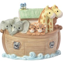 Precious Moments Overflowing with Love Noah's Ark Porcelain Nursery Décor - $49.39