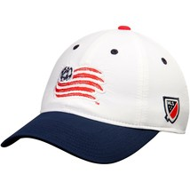 New England Revolution adidas White/Navy Authentic Team Slouch Adjustable Hat - $20.99