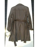 Terry Lewis Classic Luxuries 100% Genuine Leather Women's Coat Size L Brown - $98.97
