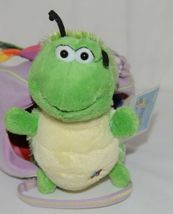 Webkinz HM434 Plush Green Caterpillar Purple Pet Carrier 9 Inches Age 3 plus image 4