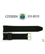 Citizen Eco-Drive AW1150-07E 22mm Black Rubber Watch Band Strap AW1151-04E - $59.95