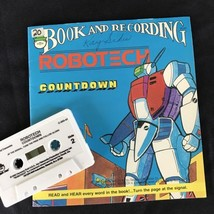 ROBOTECH: COUNTDOWN Captain Gioval Book & Cassette Peter Pan 1985 Revell... - $14.95