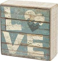 Primitives by Kathy Love - Aqua Marine Mini Beach Plankboard Print Sign ... - $11.90