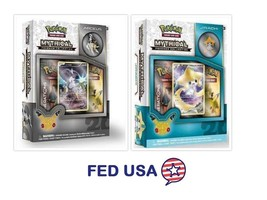 POKEMON Mythical Jirachi + Arceus Mythical Collection Pin Box Generations Packs - $31.99