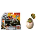 "Jurassic World Fallen Kingdom Velociraptor ""BLUE"" and Dino Megga Grow egg! - $29.99"