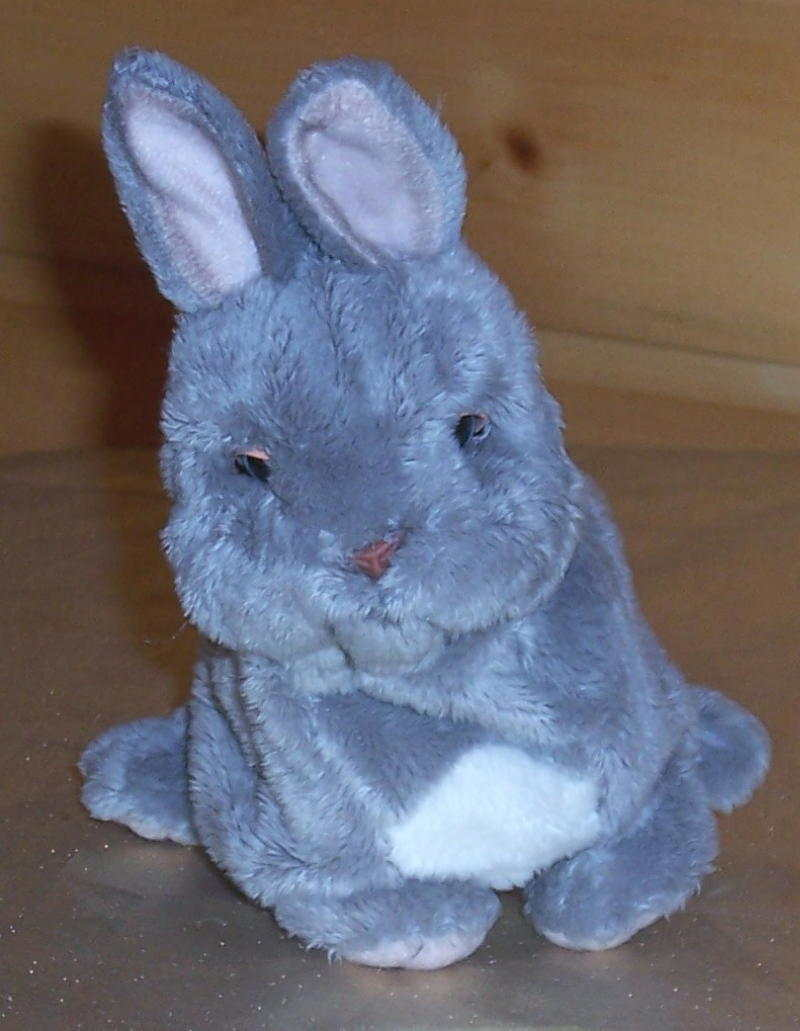 "Primary image for FurReal Friends Plush 6"" Sound & Action Grey & White Baby Bunny Rabbit Pet"