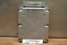 1991 Ford Explorer Navajo Engine Control Unit ECU F17F12A650YA Module 20 14E2 - $28.70
