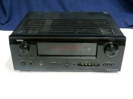 Denon AVR-590 5.1 Channel Av Receiver Hdmi + Controller RC-1120 - $118.75