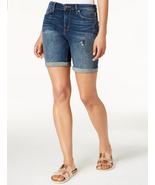 Calvin Klein Jeans City Ripped Denim Shorts Size W26 - $29.69