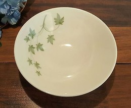 Peter Terris SHENANGO China Small BOWLS Green IVY Pattern (6 AVAILABLE) - $2.99