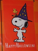 "Peanuts Snoopy Happy Halloween Garden Flag,12"" x 18"" - $34.98"