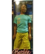 Barbie Beach Glam Steven African American K8388  - $40.00