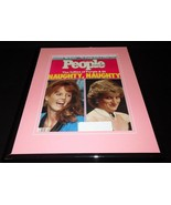 Princess Diana & Fergie Framed ORIGINAL Vintage 1987 People Magazine Cover - $55.74