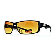 Xloop HD Sunglasses High Definition Clarity Lens Mens Rectangular Frame - $9.95