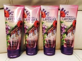 4 New Bath Body Works French Lavender & Honey 24 Hour  Body Cream Lotion - $34.65