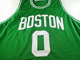 JAYSON TATUM / AUTOGRAPHED BOSTON CELTICS GREEN CUSTOM BASKETBALL JERSEY / COA image 2