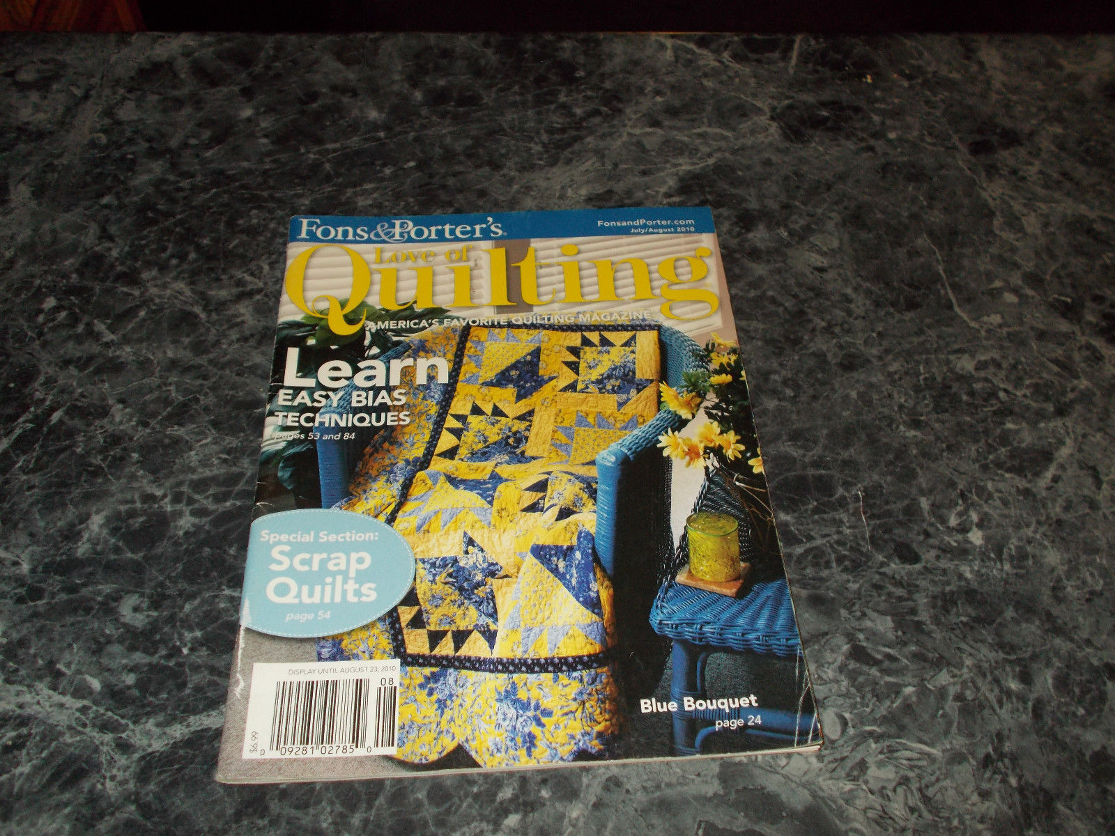Fons Porters Love Of Quilting Magazine And 50 Similar Items