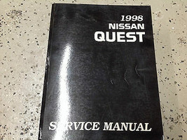 1998 Nissan Quest Service Repair Shop Workshop Manual Factory OEM  - $18.81