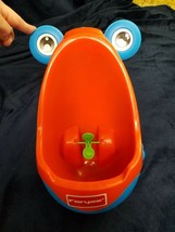 Frog urinal Potty Training Aim Target Practice Suction Cup Removalable - $15.84