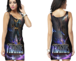 Thanos fight for galaxy bodycon dress thumb155 crop