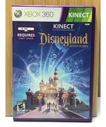 Kinect Disneyland Adventures / 2011 Microsoft Xbox 360 / Video Game Comp... - $13.15