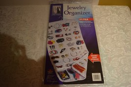 """Jewelry Organizer Ultra Double Sided 18"""" x 35"""" Storage Clear Vinyl - $7.12"""