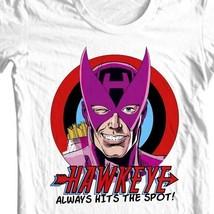 Hawkeye  HTS T shirt Marvel West Coast Avengers comic book retro graphic tee image 1
