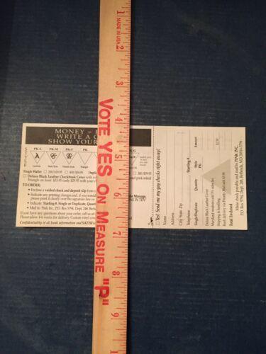 Bill Clinton Gay Check Cheque - Marketing for Check Company - White House