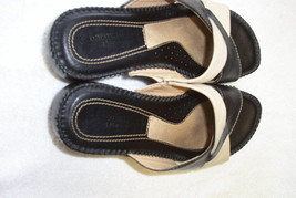 Naturalizer's Strapy Sandals, Leather and Canvas, size 6M - $17.45