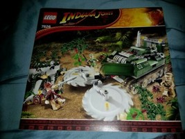 LEGO Indiana Jones 7626 instruction Booklet Manual ONLY - $6.93